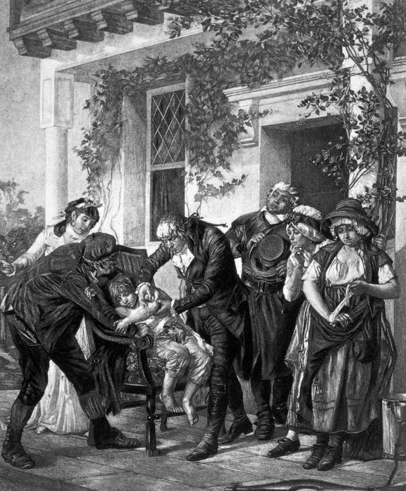 Edward Jenner védőoltás