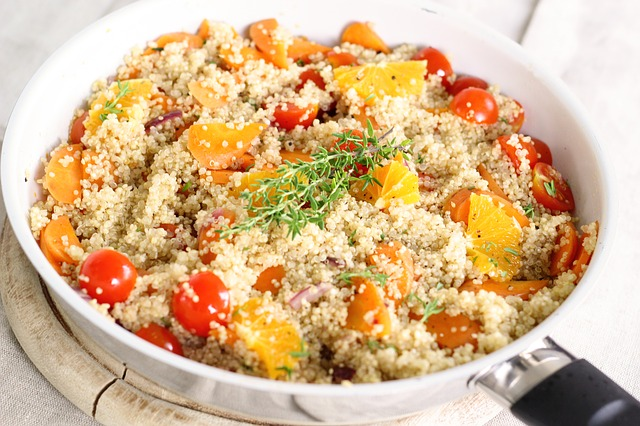 quinoa vegetariánus étrend, gluténmentes diéta