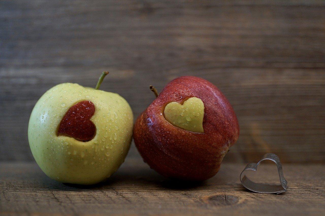 alma egészséges táplálkozás gyerek étrend