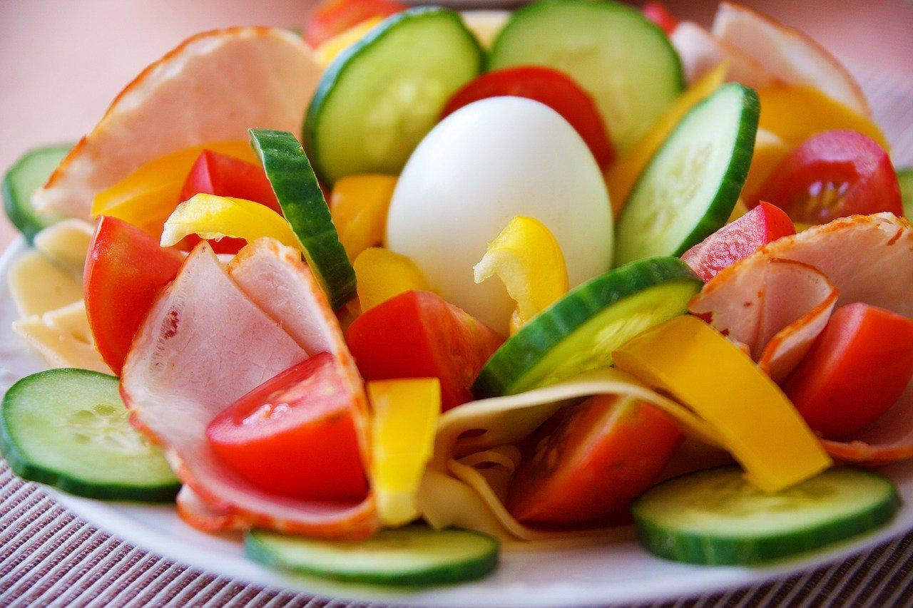saláta, egészséges étrend