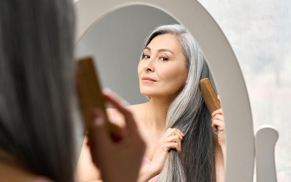 menopauza haj bőr