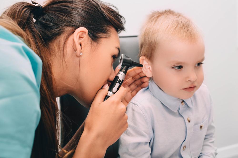 csecsemő középfülgyulladás