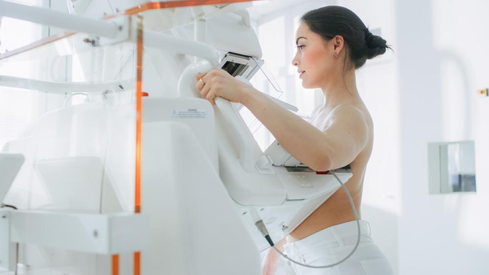 emlőrák mammográfia