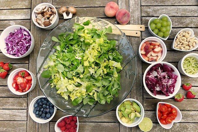 zöldség egészséges étrend saláta klimax