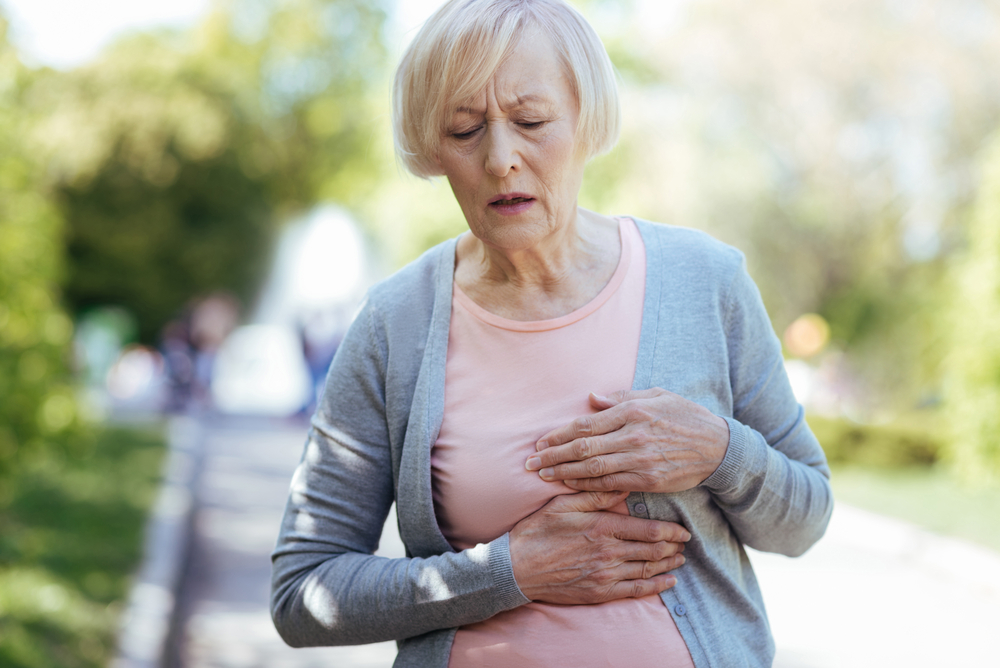 szívroham tünetei légszomj izzadás hátfájás