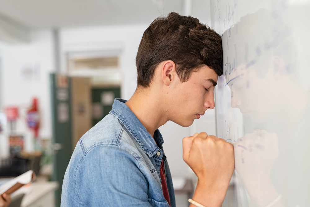 tinédzserkori stressz