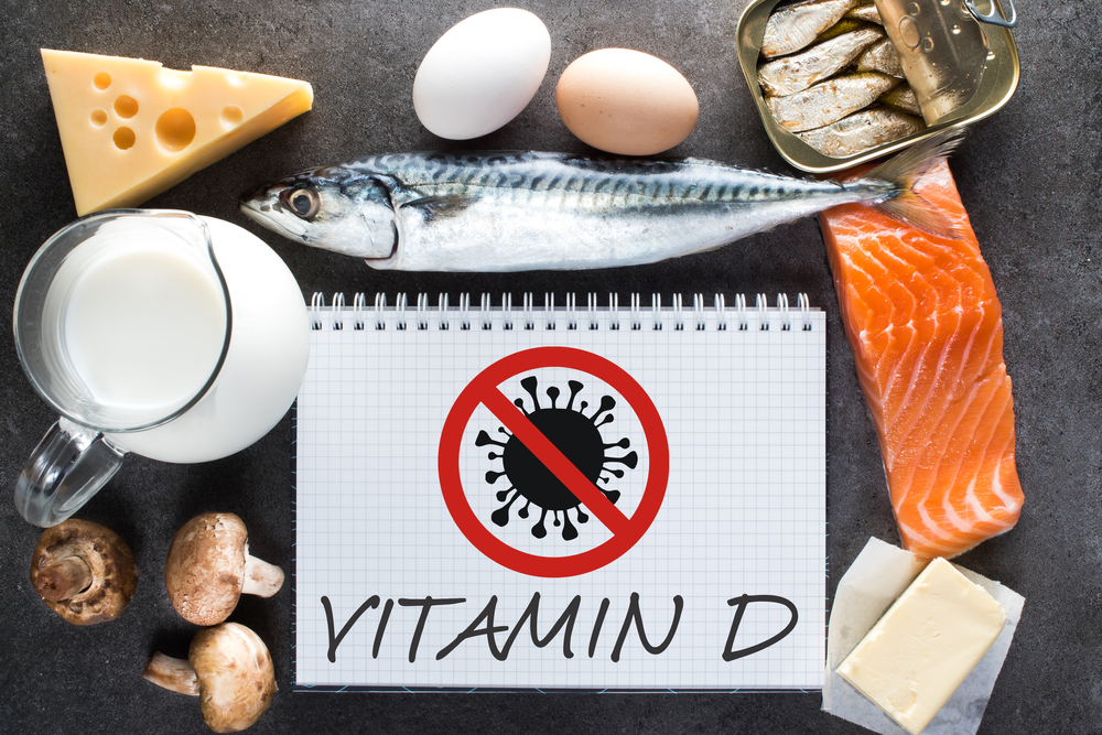 D-vitamin covid-19 fertőzés