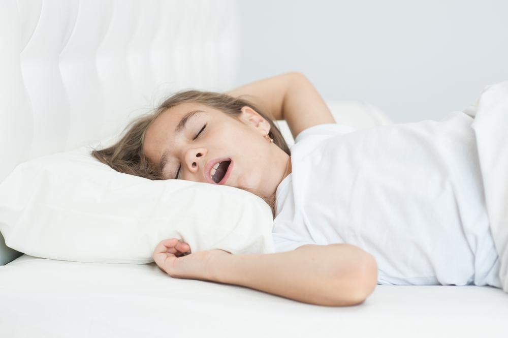 gyermekkori horkolás